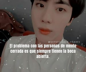 frases, jin, and bts image