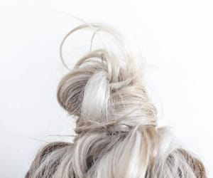 braid, green hair, and hair image