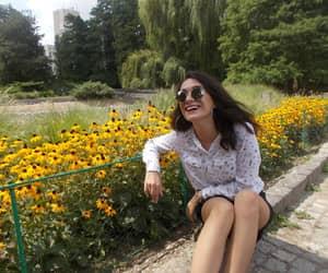 beauty, girl, and happy image