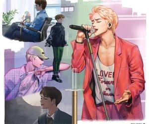 fanart, Jonghyun, and k-pop image