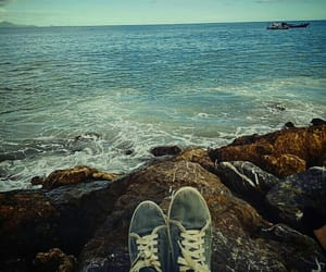 blue, shoes, and breezy image