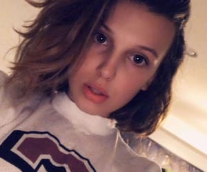 snapchat and millie bobby brown image