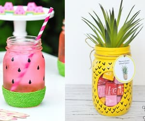 diy, jar, and pineapple image