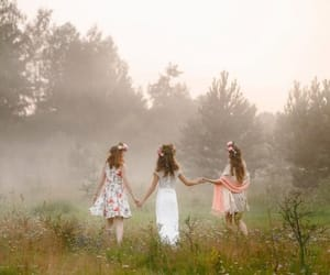 aesthetic, spring, and midsummer night's dream image