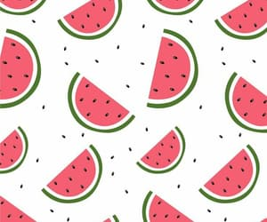 wallpaper, watermelon, and fruit image