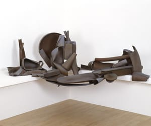 contemporary art, metal sculpture, and abstract sculpture image