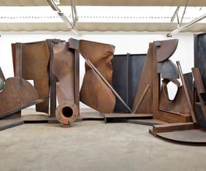 contemporary art, metal sculpture, and british artist image