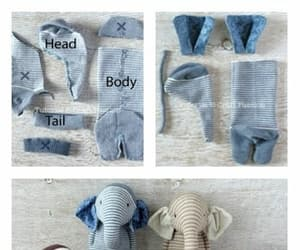 diy, elefant, and recycled image