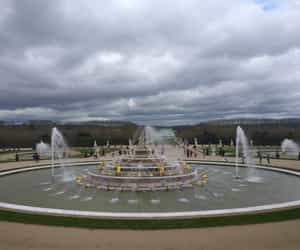 fountain, france, and garden image