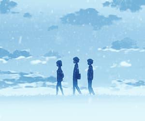 aesthetic, anime, and walk image