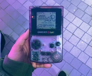 game, aesthetic, and gameboy image