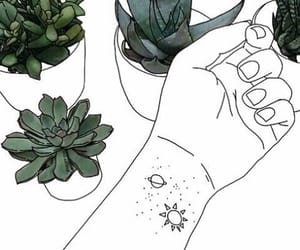 plants, outline, and art image