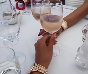 drink, luxury, and wine image