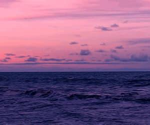 gif, pink, and sea image