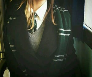 green, aesthetic, and harry potter image