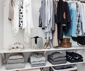 closet and clothes image