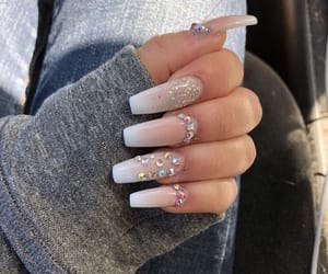 girly inspiration and nails goals image