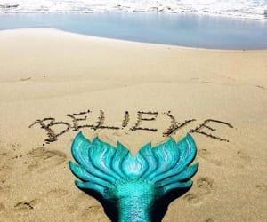 believe, mermaid, and ocean image
