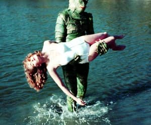 Creature from the Black Lagoon, romance, and love image