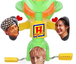pentagon, hyuna, and triple h image