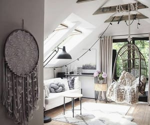 bed, home, and style image