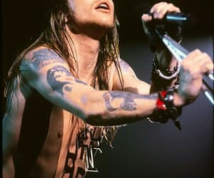 Guns N Roses, axl rose, and tattoo image