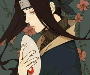 naruto, haku, and anime image