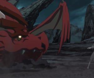 dragon, virgin soul, and anime image