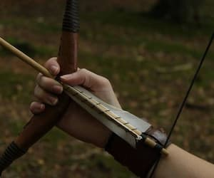 arrow, aesthetic, and bow image