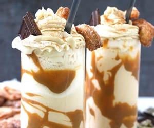 desserts, food, and milkshake image