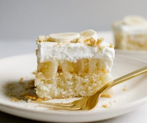 banana, cake, and desserts image