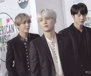 bts, jin, and taehyung image