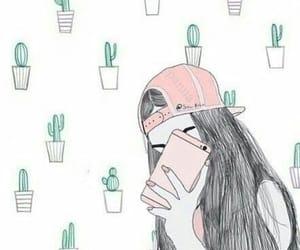 wallpaper, girl, and tumblr image