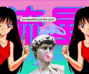 headers, sailor moon, and sailor mars image