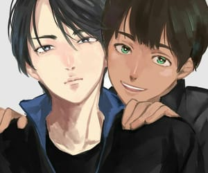 yuri on ice, seung-gil lee, and pichit chulanont image