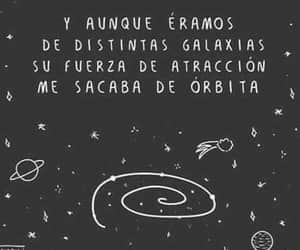 black, frases, and galaxia image