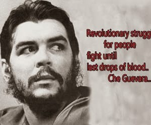 Che Guevara, quotes, and revolution image