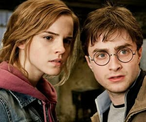 hermione granger, potter, and harry image
