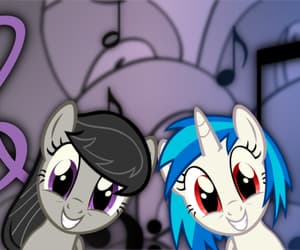 cartoon, MLP, and cute image