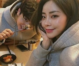 amor, romance, and korean couple image