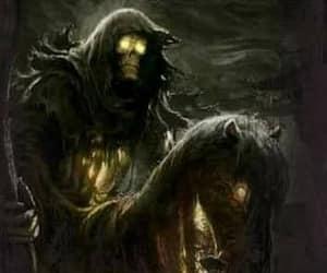 creepy, death, and gossip image