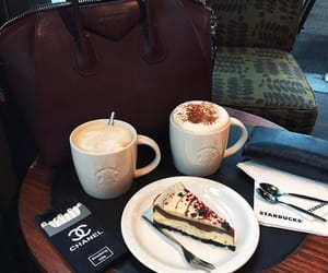 cake, just love it, and coffee image