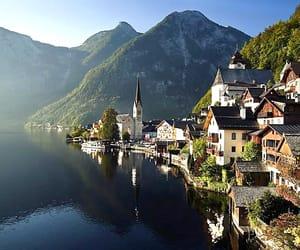austria, hallstatt, and upper austria image
