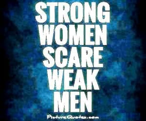 strong women, female empowerment, and weak men image
