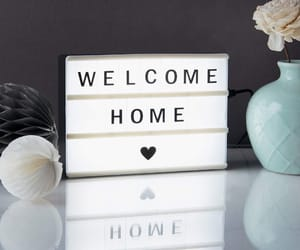 decor, flower, and home image
