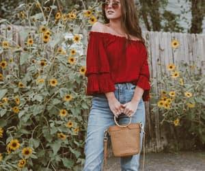 boho, fashion, and fashion blogger image