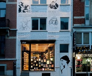 book, city, and bookstore image