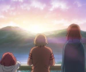 ao haru ride, anime, and friends image