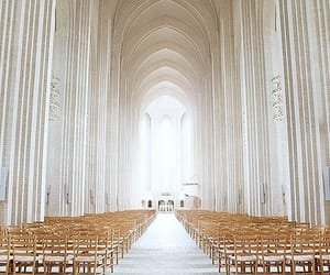church, white, and architecture image