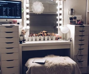 beauty, imac, and makeup image